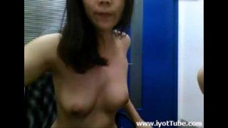 Chinese fucking at workplace