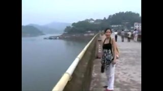 Chinese public threesome