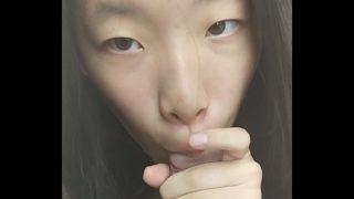 Chinese teen blowjob