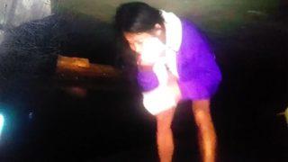Chun-Li Chinese girl wiping off face CUM