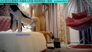 北京花重金8000人民币约会身材苗条超嫩19岁学生美女