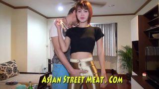 Mouth Fucked Asian Sperm Slurper