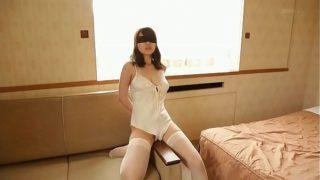 Blindfolded Asian Girl In Her Underwear 2