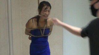 Chinese Wife Wet Bondage