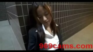 Drunk Japanese Office Girl Picked Up